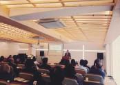 새 교회, 첫 주일예배 전경