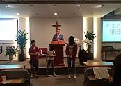 어린이날 교회 어린이들 선물 증정